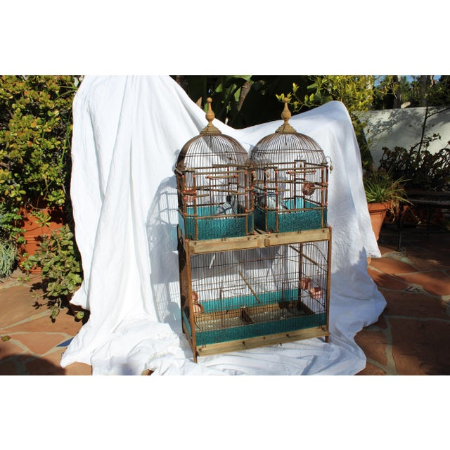 Brown 19th Century English Victorian Bird Cage For Sale - Image 8 of 9