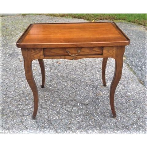 French Rustic Ash Writing Table For Sale - Image 10 of 10