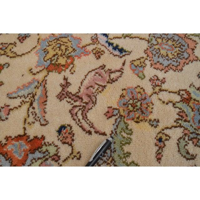 """Karastan 8'8"""" X 10'6"""" Tabriz Room Size Rug Carpet For Sale - Image 9 of 12"""