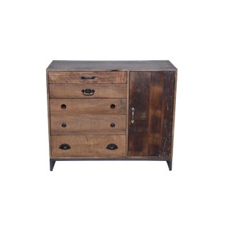 Colborne Five Drawer Reclaimed Wood Sideboard/Server