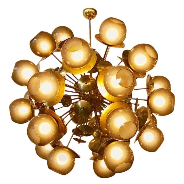 Lampadina Sputnik Chandelier by Fabio Ltd For Sale