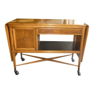 Erwin Lambeth for Tomlinson Sophiticates Bar Cart For Sale
