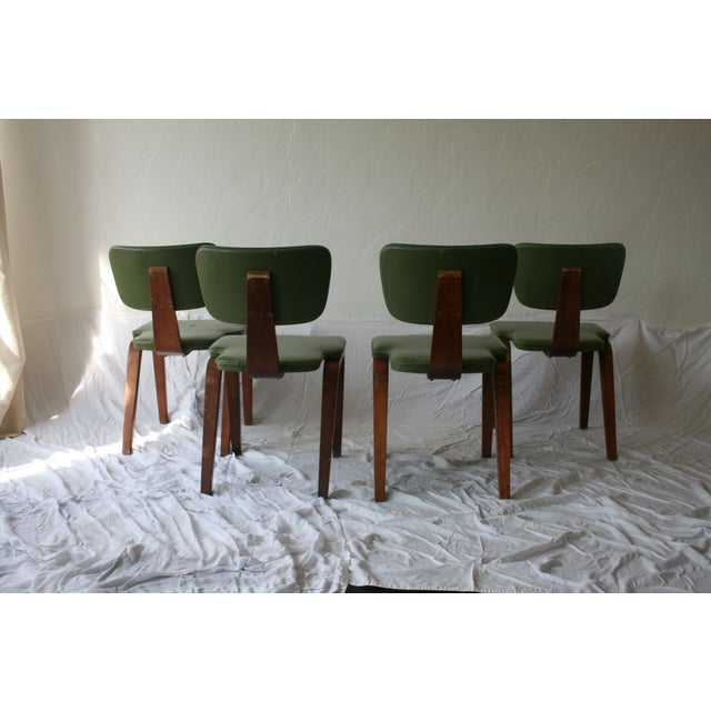 Vintage Thonet Bentwood Chairs - Set of 4 For Sale - Image 6 of 7