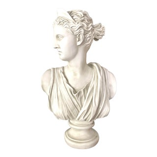 Monumental Bust of Diana For Sale