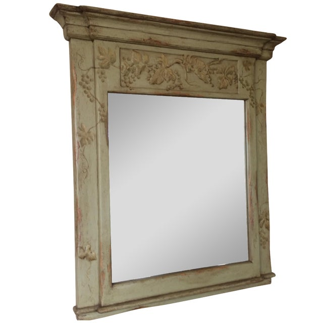 Farmhouse Collection Hand-Painted Mirror - Image 1 of 6