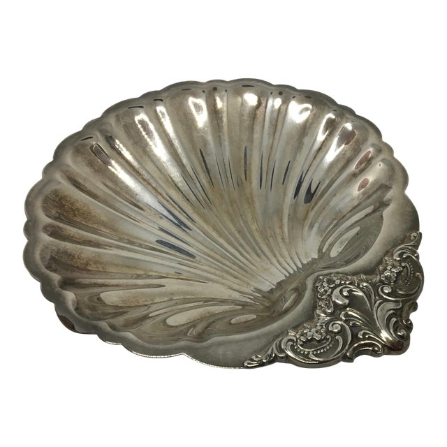 Wallace Silversmiths Baroque Serving Dish For Sale