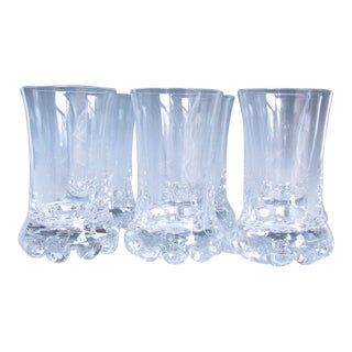 Vintage Kosta Boda Buster Hiball Glasses - Set of 6 For Sale