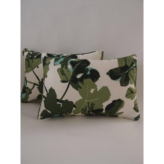 Peter Dunham Outdoor Textile Pillows - Pair - Image 2 of 5