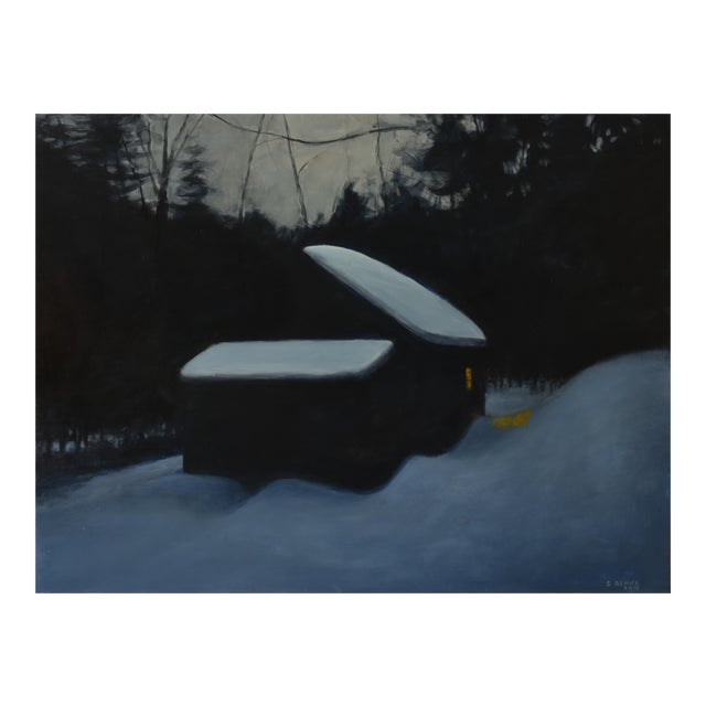 """Stephen Remick, """"Cozy"""", Contemporary Painting For Sale"""