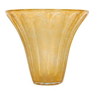 French Art Deco Vase by Daum For Sale