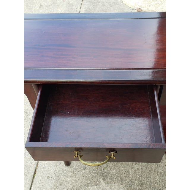 Vintage Asian Rosewood Console Table For Sale - Image 12 of 13