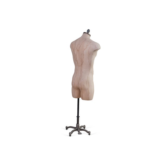 Industrial Adjustable Stand Male Mannequin For Sale - Image 3 of 3