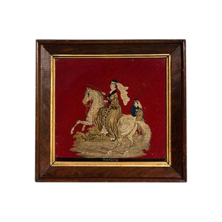 Queen Victoria Needle Point For Sale