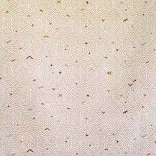 Virginia Kraft Kira Fabric, 3 Yards in Sand Multi For Sale