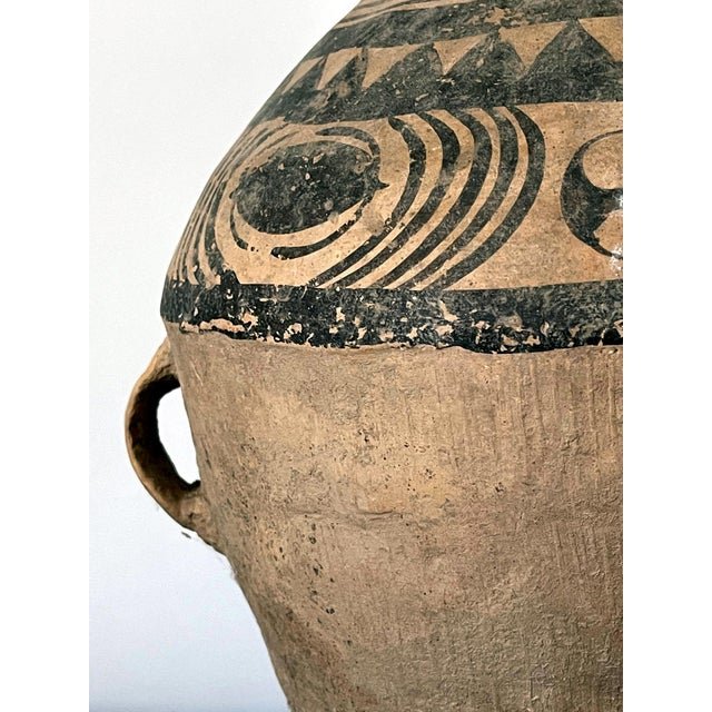 Chinese Neolithic Painted Pottery Jar For Sale - Image 12 of 13