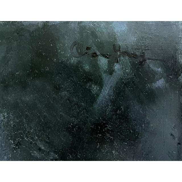 Oil Painting on Canvas by Yang Qian For Sale - Image 4 of 13