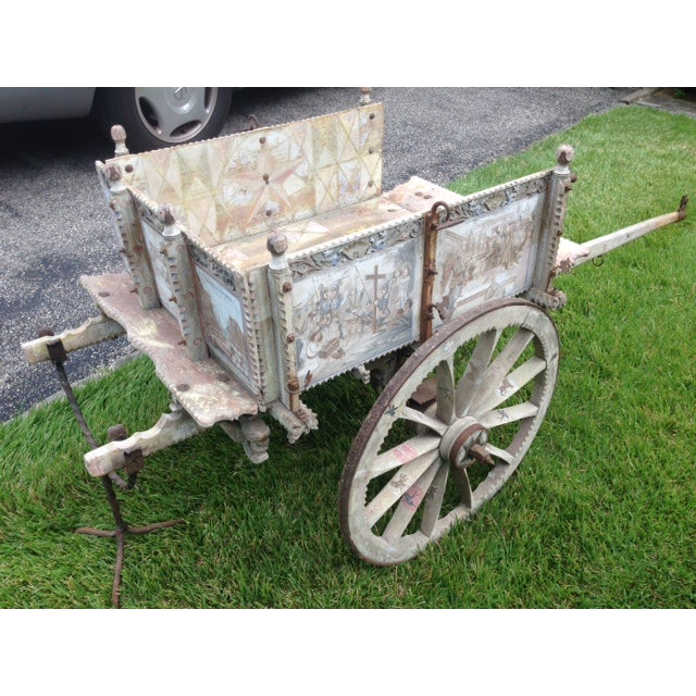 19th-Century Sicilian Goat Cart For Sale - Image 9 of 9