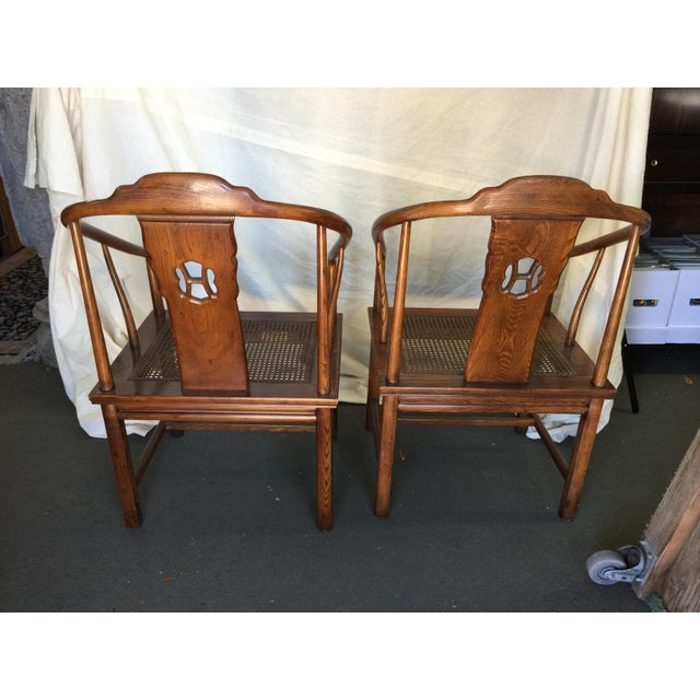 Henredon Chinese Style Chairs - A Pair - Image 5 of 7