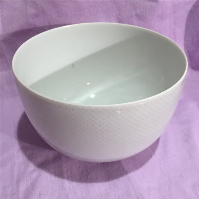Rosenthal Studio White Footed Bowl - Image 2 of 7