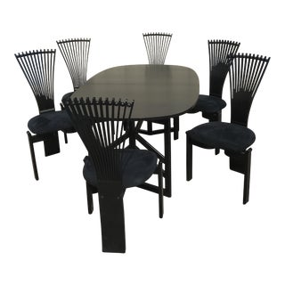 Torstein Nilsen Westnofa Totem Dining Set Table & 6 Chairs