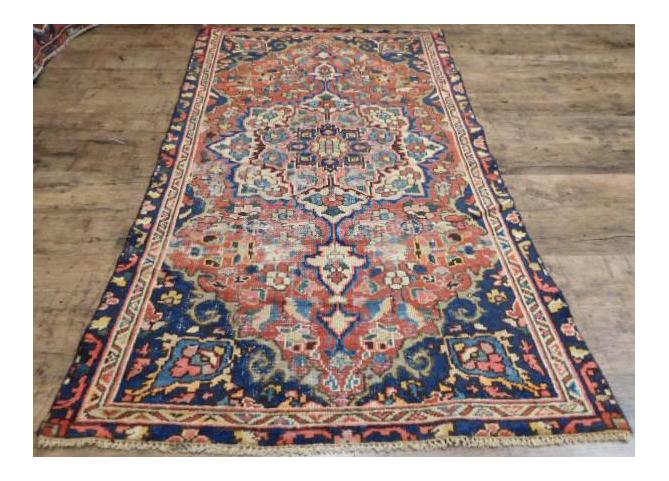 5 x 6 rug. Antique Persian Heriz Serapi Rug- 3\u00275\ 5 X 6 Rug