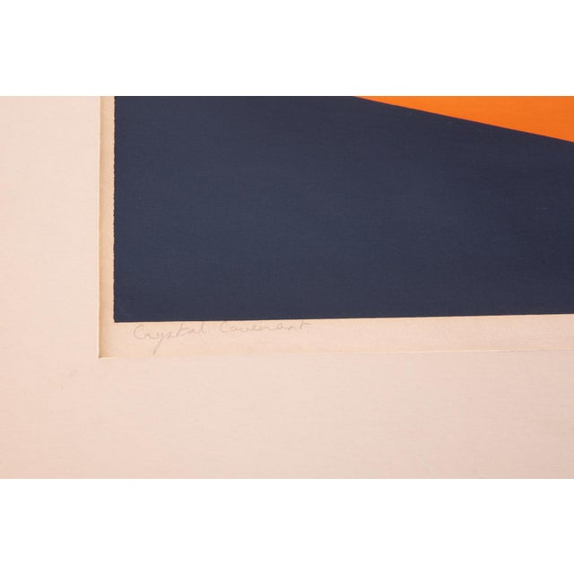 1970s Jack Cascione 'Crystal Covenant' Serigraph For Sale - Image 5 of 6