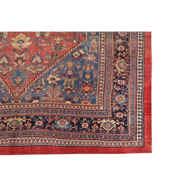 This rare and beautiful piece is a vintage rug lovers dream! A desirable size and gorgeous classing coloring. The rug is...