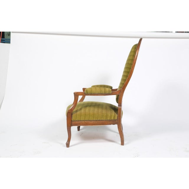 Late 19th Century 1890's French Rococo-Style Armchair For Sale - Image 5 of 13