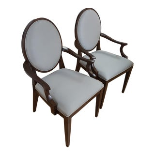 Bernhardt Haven Armchairs - A Pair For Sale
