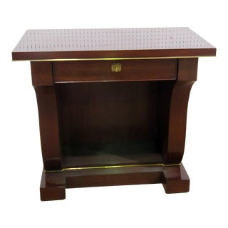Late 20th Century Ralph Lauren Nightstand For Sale