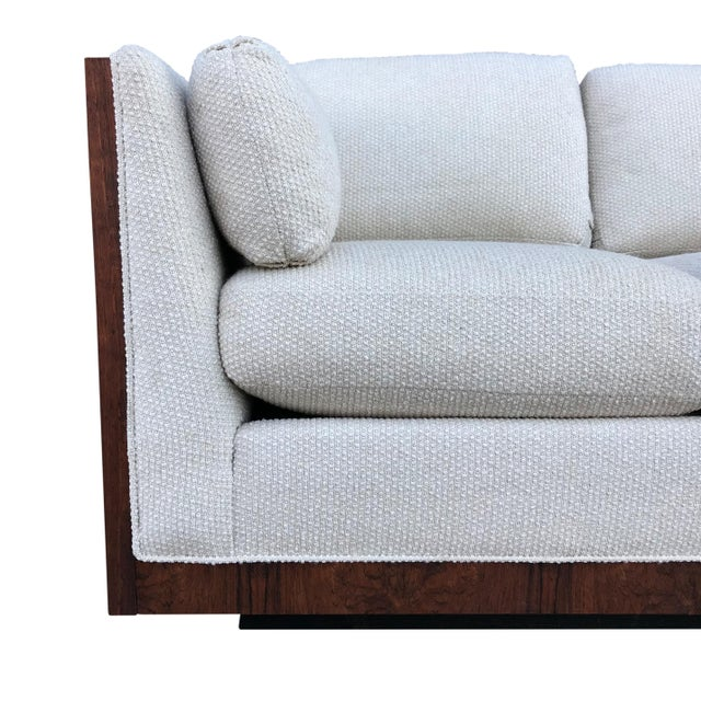 1960s Milo Baughman for Thayer Coggin Case Loveseat For Sale - Image 5 of 9