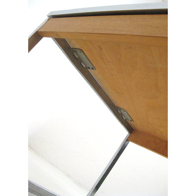 Mid-Century Modern 1960s Mid-Century Modern Chrome and Mosaic Coffee Table For Sale - Image 3 of 10