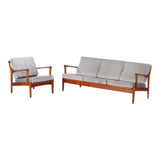 "Bertil Fridhagen ""Kuba"" Couch & Easy Chair for Broderna Andersson For Sale"