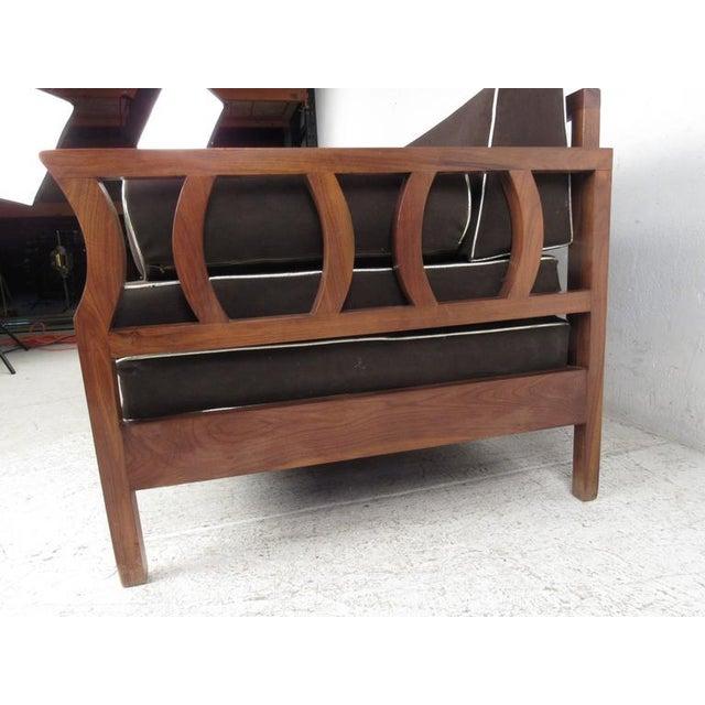 Vintage Modern Sculptural Sofa or Day Bed - Image 6 of 11