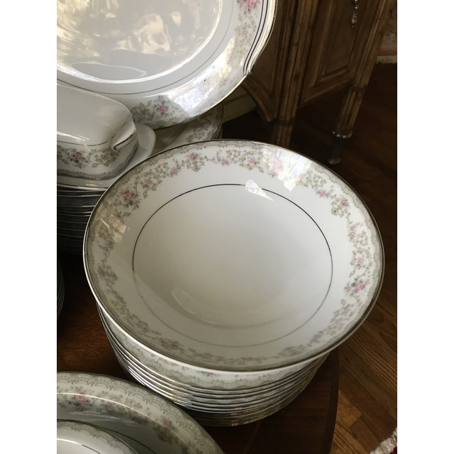 Vintage Noritake # 5807 Edgewood Service for 12 Dinnerware - 94 Pieces,reduced Final For Sale - Image 11 of 12