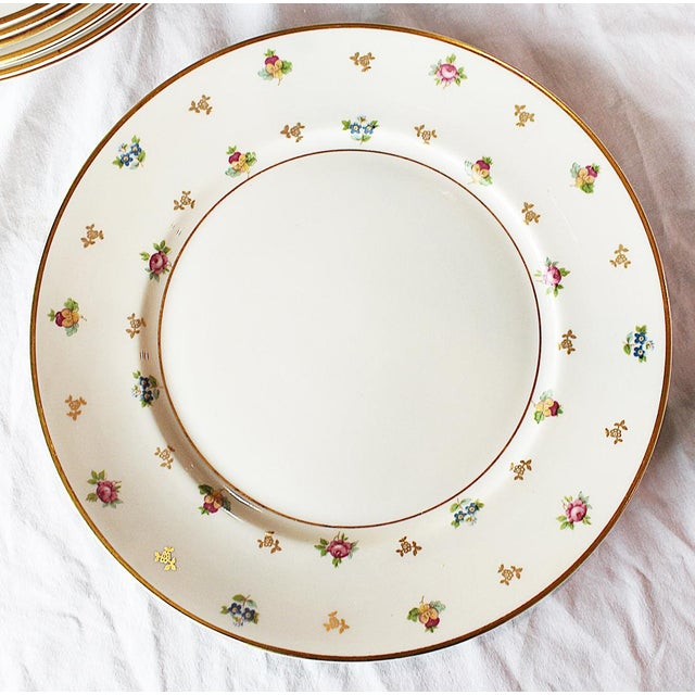 French Dinner Plates by Lamberton, Molly Pitcher - Set of 6 For Sale - Image 3 of 8