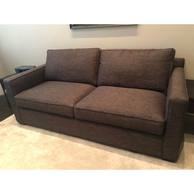 Crate & Barrel Modern Crate and Barrel Davis Queens Sleeper Sofa For Sale - Image 4 of 4