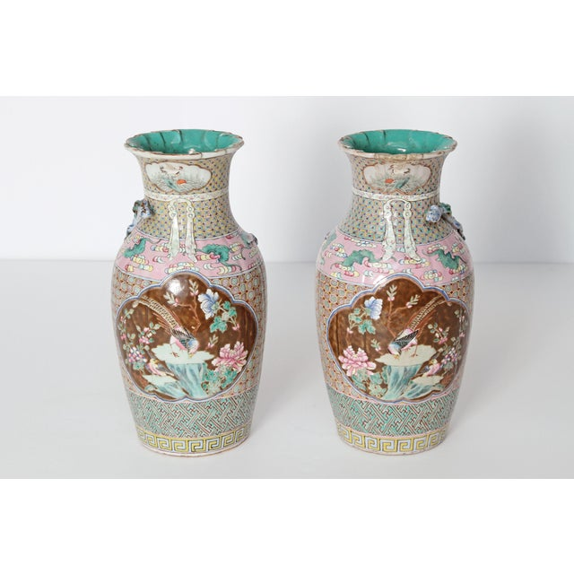 19th Century Pair of Chinese Vases For Sale - Image 11 of 11