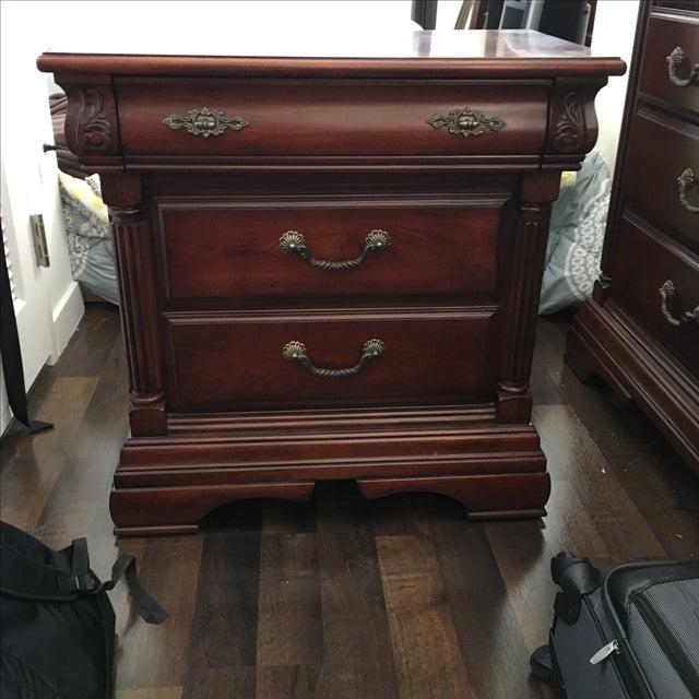 Bassett Furniture Nightstand - Image 2 of 4