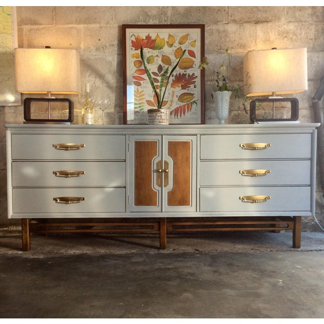 Mid-Century Modern Credenza or Buffet - Image 3 of 9
