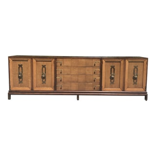 Mid Century Modern Renzo Rutili for Johnson Furniture Long Credenza For Sale