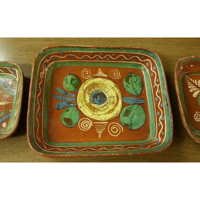 Tlaquepaque Mexican Bowls - Set of 3 - Image 3 of 7