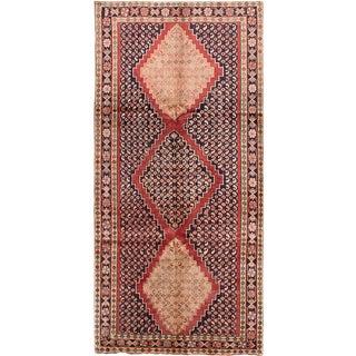 "Meshkin Vintage Persian Rug, 4'11"" x 10'3"" feet"
