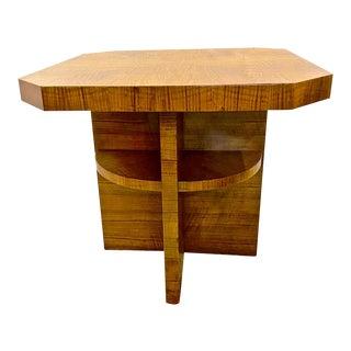 Vintage Art Deco Side or Center Table For Sale