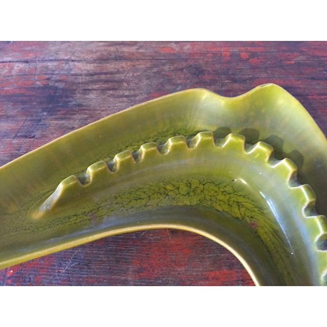 Green Boomerang Ashtray - Image 6 of 7