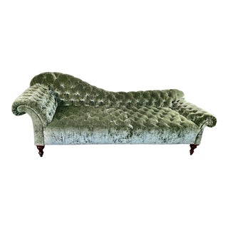 George Smith Chaise For Sale