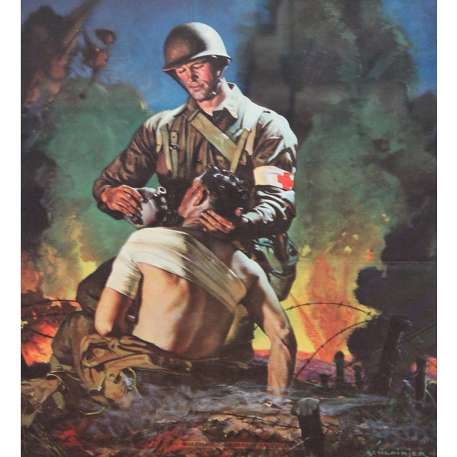 WWII Schlaikjer US Army Recruiting Poster - Image 3 of 5