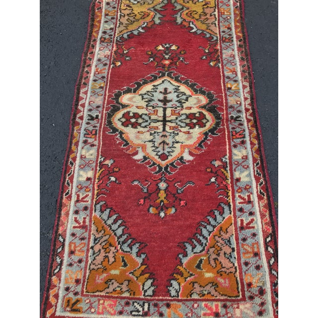 "Vintage Turkish Anatolian Rug - 2'8""x5'4"" - Image 3 of 11"