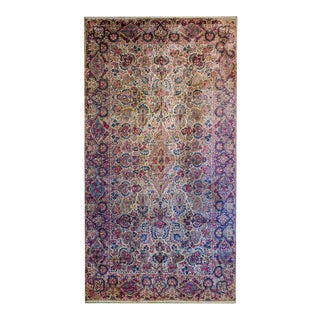 Exquisite Early 20th Century Lavar Kirman Rug For Sale