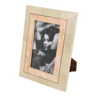 Maitland-Smith Tessellated Travertine Picture Frame For Sale